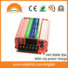 (HM-24-500) 24V 500W Hybrid Inverter Can with City Power