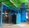 Shot Blasting Cleaning Machine with Overhead Chains