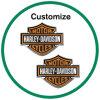 Custom Logo Die Cut Sticker for Eyeglasses