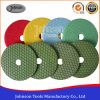 125mm Diamond Dry Granite Polishing Pad for Stone