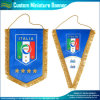Custom Silk Satin Pennants with Tassel (B-NF12F10002)
