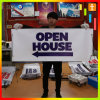 Custom Outdoor Vinyl PVC Banner, PVC Street Banner