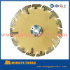 Segmented Type Diamond Saw Blade with Flange for Cutting Granite