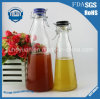 Lock Buckle Bottle 1050ml Lead Free and Transparent Fruit Juice Glass Bottle