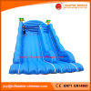Inflatable Blue Giant Jumping Bouncy Super Slide (T4-299)