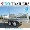 12X6 Dual Axle Tandem Box Trailer Fully Welded OEM Trailer