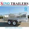 12X6 Dual Axle Tandem Box Trailer Fully Welded OEM Trailer