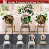 Foshan Factory Price Restaurant Furniture Leather Banquet Metal Dining Chair Yc-D130-2