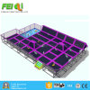 Kids Popular Indoor Trampoline Bed Popular Attraction Indoor Playground Trampoline Small Indoor