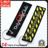 Customized Logo Embroidery Keychain for Gift