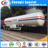 Q370r 12mm 59.52cbm Tri-Axle 25tons 30mt LPG Road Tanker Trailer