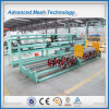 Galvanized Chain Link Fence Machine Double Wire