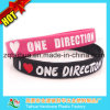 Custom Silicone Wristbands with Color Filled