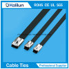 PVC Coated Ball Locking Stainless Steel Cable Ties