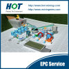 EPC Service for 5000 Tpd Gold Processing CIP Plant