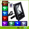 China Supplier LED Floodlight 85-265V IP65 10W 20W 30W 50W 100W 150W Remote Control RGB Color Changing Outdoor LED Flood Light
