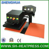 Double Stations Pniumatic Swing Head Heat Press Machine for Sale