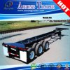 Light Weight 45FT Container Trailer Chassis, Container Skeletal Semi-Trailer