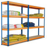 Rivet Rack, Boltless Rack, Light Duty Storage Rack