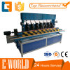 Glass Flat Edge with Arris Edging Machine