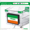 Shopping Trolley Cart Display Advertising Board