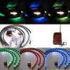 Undercar Underbody Underglow Kit Neon Strip Light Under Car Body Glow Light Tube