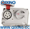 16A 5p Red Interlocked Receptacle Switch