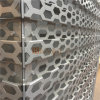 Perforated Aluminum Decorative Panels with Rhombic Pattern for Audi Workshop