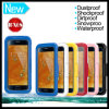 Waterproof Unbreakable Plastic Silicon Waterproof Case for Samsung Galaxy S6 & S6 Edge Mobile Cell Phone