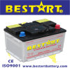 DIN55 12V55ah Lead Acid Dry Charged Car Battery