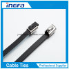 Stainless Steel Cable Tie Ball Locked with Plastic Coated