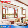 Aluminum Double Tempered Glazed Tilt-Turn Window for Commercial