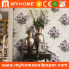 106cm Wide Width Embossed Vinyl Wallpaper with Flower