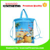 Customized Carton Children Shool Drawstring Non-Woven Backpack with Handle