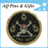 3D Gold Coin with Imitation Hard Cloisonne, Challenge Coin