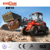 Qingdao Everun 1.5 Ton Wheel Loader Er15 with 4 in 1 Bucket for Sale