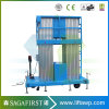 Portable Semi Electric Aerial Work Platform Max Height 14m Vertical Lift Platform for Maintenance