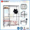 Epoxy Black Metal Bedroom Furniture Closet Wardrobe Rack with Oxford Cloths Fabric Cover