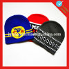 Acrylic Cap Knit Hat Embroidery Beanie