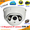 1.0 Megapixel IR Dome IP CCTV Cameras Suppliers