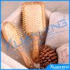 Bamboo Pad Massage Wooden Hair Brush Comb