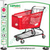 180 Litres Plastic Shopping Trolley Cart with Best Casters