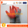 Ddsafety 2017 Grey Nylon Red Latex Glove