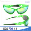 Most Popular Promotion Polarized Full Frame Light Green Biking Eyewear