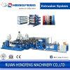 Multilayer Plastic Sheet Extrusion Machine for PP, PS, Pet, PVC, etc (HFSJ60-32A-100-33B-700B)