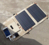 Foldable Solar Power Charger Portable Outdoor Travel Solar Power Pack Solar Charger Bank 10W