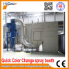 China Quick Colour Change Powder Spray Booth