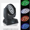 DJ 36*15W RGBWA UV 6 in 1 LED Zoom Wash Moving Head