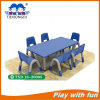 Plastic Rectangle Plastic Table Indoor Playground Playset