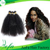 Brazilian Virgin Hair, Afro Kinky Curly, Weaving Human Hair Extension